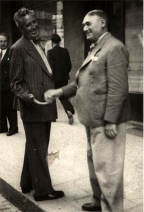 С Борис Руменов - Зевзека, 1935 г.