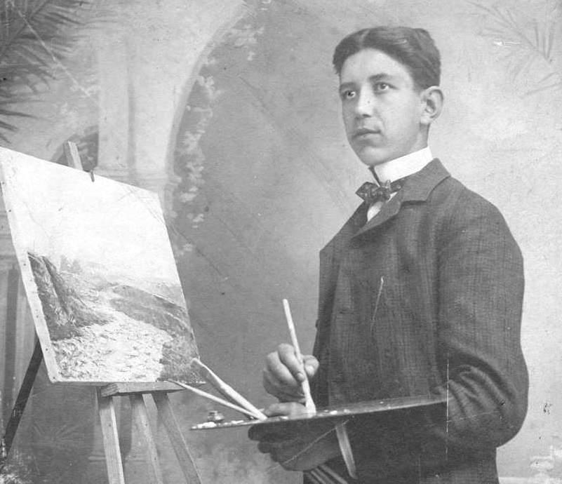 Ученик в рисувалното училище, 1907 г.