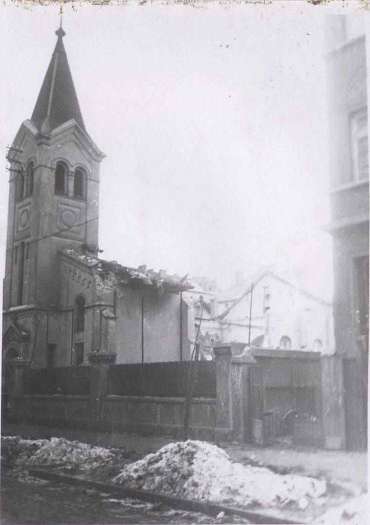 first evangelist church after bombing