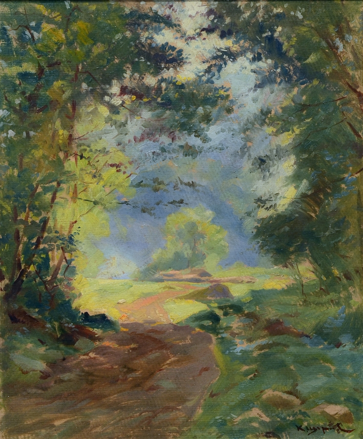 landscape oil on canvas